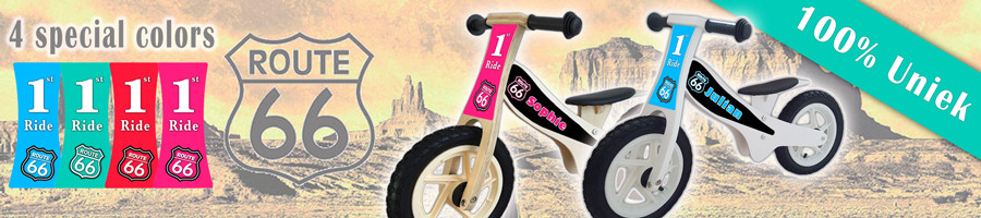 Loopfiets-route66-banner
