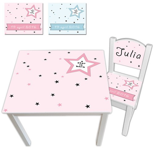 kindertafel-geboortestoeltje-star-is-born-ronde-rug-roze