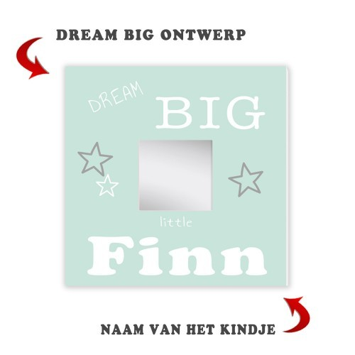geboorte-spiegel-dream-big-groen